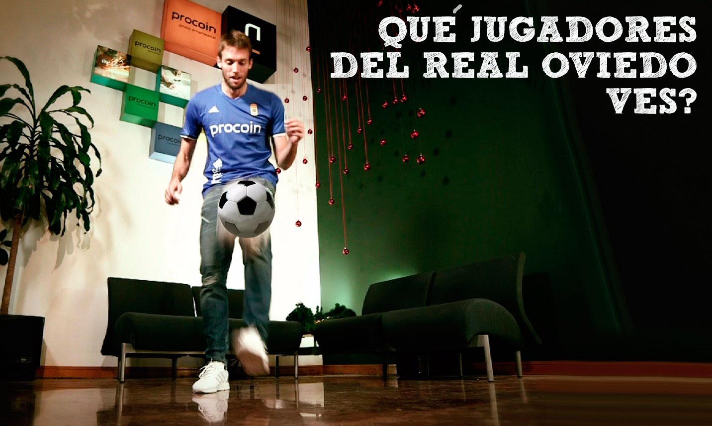 ¿Qué jugadores del Real Oviedo viste en el vídeo?