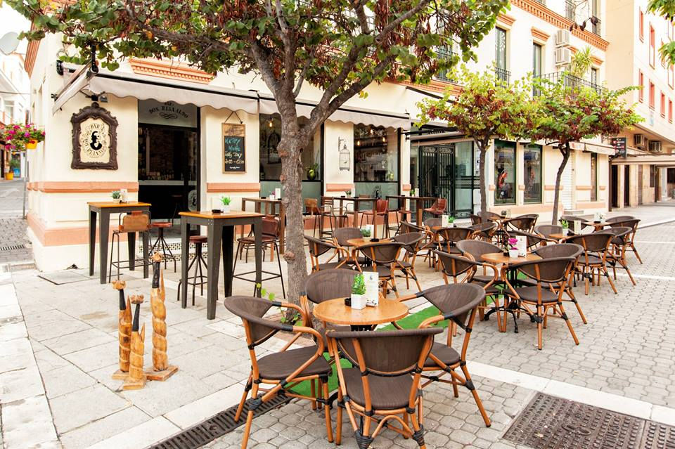 What's main street in Estepona's old town?